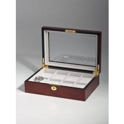 Rothenschild óra karóra doboz RS-2105-8C for 8 óra karóra Cherry óra karórabox