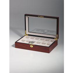 Rothenschild óra karóra doboz RS-1087-12C for 12 óra karóra Cherry óra karórabox