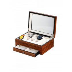 Rothenschild óra karóra & ékszer doboz RS-2271-8Z for 8 óra karóra Zebra óra karórabox
