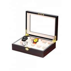 Rothenschild óra karóra doboz RS-1087-10E for 10 óra karóra Ebony óra karórabox