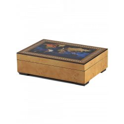Rothenschild óra karóra doboz RS-2392-6MAP for 6 óra karóra + kicsi parts óra karórabox