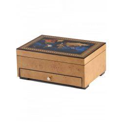 Rothenschild óra karóra doboz RS-2393-8MAP for 8 óra karóra + kicsi parts óra karórabox