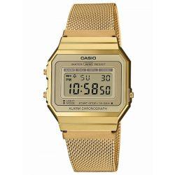 Casio A700WEMG-9AEF klasszikus Collection 33mm 3ATM karóra női, férfi, Unisex férfi női