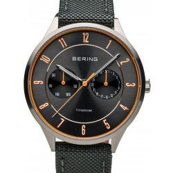 Bering Ékszer 11539-879 titanium férfi's 39mm 5ATM karóra