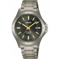 Lorus RG867CX9 titanium férfi's 37mm 10ATM karóra férfi