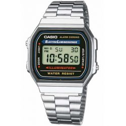 CASIO A168WA-1YES Collection 35mm 3 ATM karóra férfi
