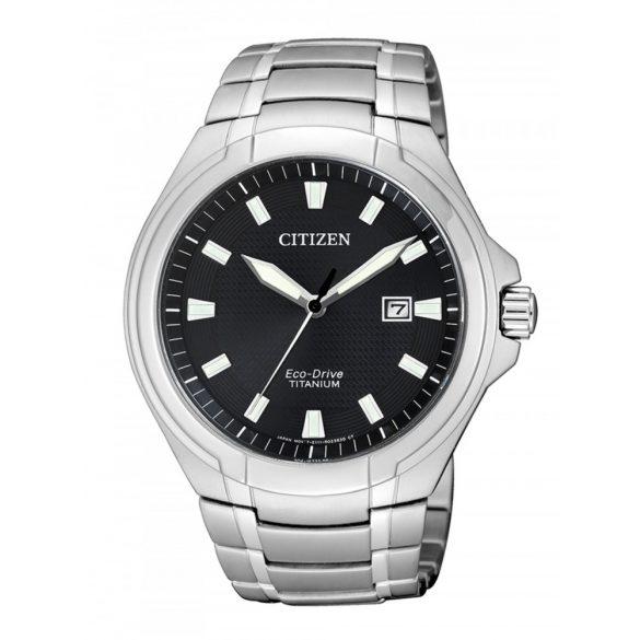 Citizen BM7430-89E Eco-Drive Super-Titanium férfi 42mm 10ATM  óra karóra