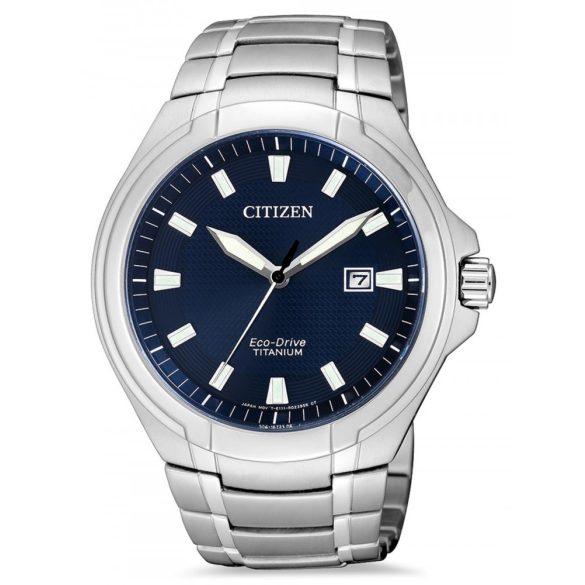 Citizen BM7430-89L Eco-Drive Super-Titanium férfi 42mm 10ATM  óra karóra