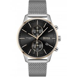 Hugo Boss 1513805 Associate  Kronográf Óra 42mm 5 ATM karóra
