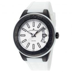 Jacques Lemans Miami Unisex férfi női óra karóra 1-1785J fehér