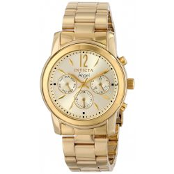 Invicta női 12551 Angel analóg kijelző Swiss Quartz arany színű óra karóra