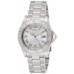 Invicta női 12819 Pro Diver ezüst számlap köves jelölők óra karóra