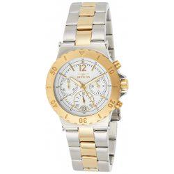 Invicta női 14855 Specialty  Kronográf Óra 18k arany színűbevonat és nemesacél két tónusú óra karóra