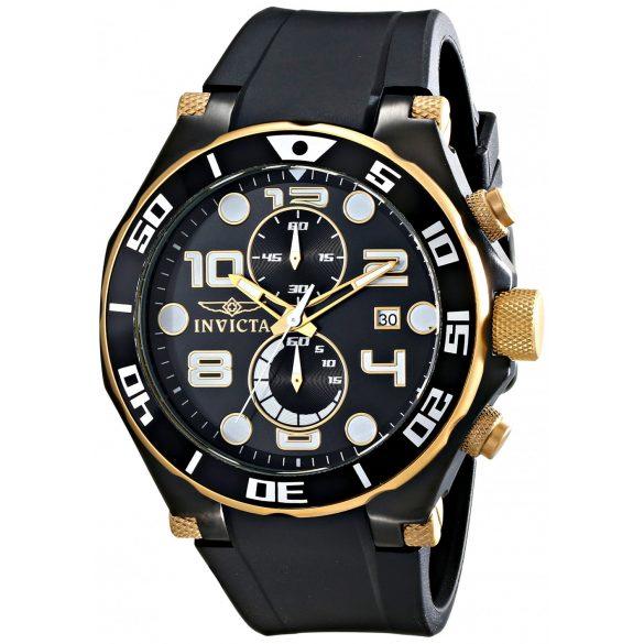 Invicta férfi 15396 Pro Diver analóg kijelző Japán Quartz fekete óra karóra
