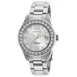 Invicta női 21396 Pro Diver ezüst- nemesacél óra karóra