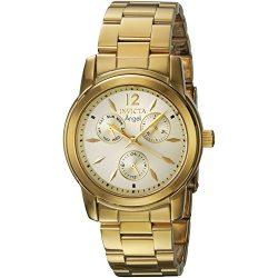 Invicta női Angel Quartz óra karóra - szíj, arany színű , 20 (Model: 21691)