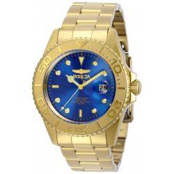 Invicta férfi Pro Diver Quartz óra karóra nemesacél szíj, arany, 22 (Model: 29947)