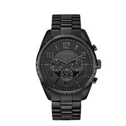 Caravelle Designed by Bulova férfi Quartz óra karóra - szíj, fekete, 21.75 (Model: 45B150)