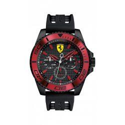 Ferrari férfi 0830310 XX KERS analóg kijelző Japán Quartz fekete óra karóra