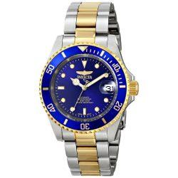 Invicta férfi 8928OB Pro Diver arany színű nemesacél két tónusú automata óra karóra