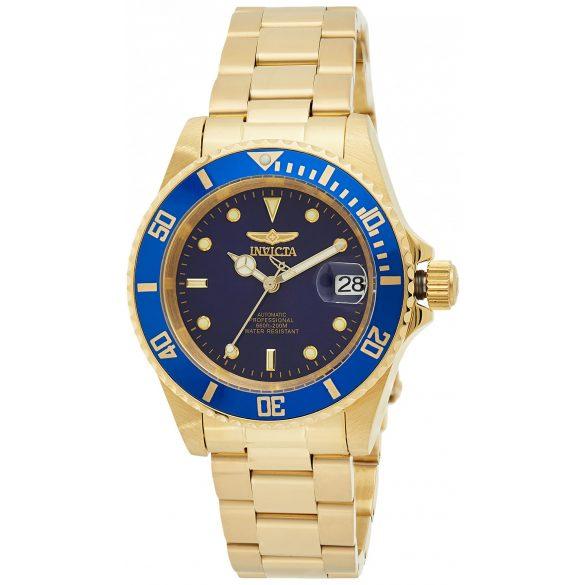 Invicta férfi 8930OB Pro Diver automata arany- Karkötő óra karóra