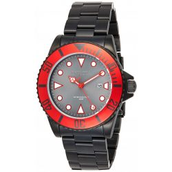 Invicta férfi Pro Diver Quartz óra karóra - szíj, fekete, 9 (Model: 90296)