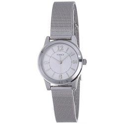 Timex női T2P457 tok ruha ezüst- nemesacél Mesh Karkötő óra karóra