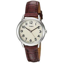 Timex női könnyű Reader bőr szíj 30mm óra karóra