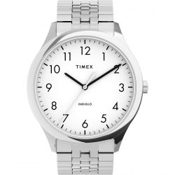 Timex férfi Modern könnyű Reader 40mm óra karóra