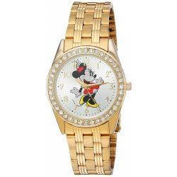 Disney Minnie Mouse nőiarany ötvözet óra karóra,arany nemesacél Karkötő, W002765