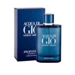 Giorgio Armani Acqua Di Gio Profondo EDP 125ml uraknak férfi parfüm
